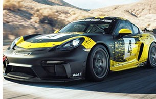 Porsche Uses Natural-Fiber Composites in Cayman Race Car