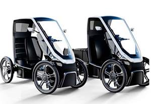 Schaeffler Pedals Up Urban Mobility Vehicle