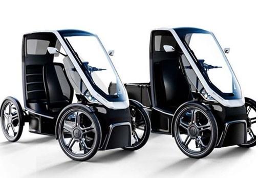 Schaeffler Pedals Up Urban Mobility Vehicle