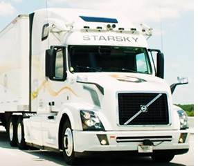Startup Tests Remote Controlled Driverless Truck