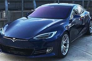 Tesla Targets Porsche Taycan's 'Ring Record