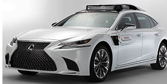 Toyota Readies New Autonomous-Driving Development Car