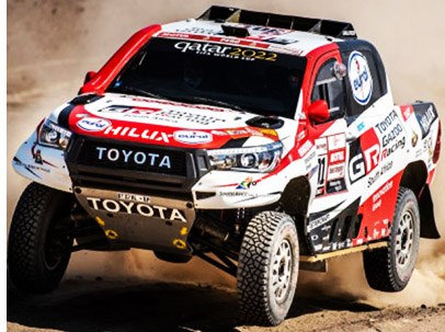 Toyota Truck Wins Dakar Rally