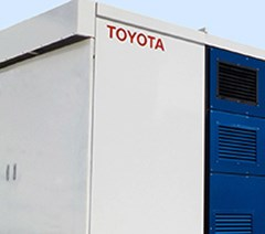 Toyota Tests Factory Fuel Cell Generator