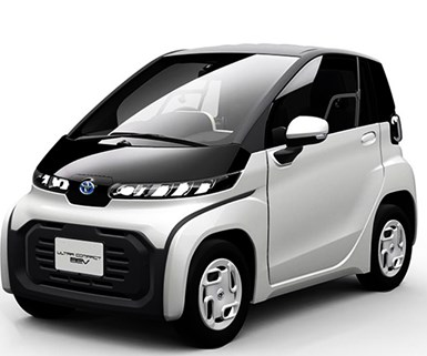 Toyota Readies Tiny EV and Scooters