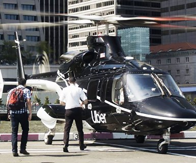 Uber Debuts Helicopter Service in NYC