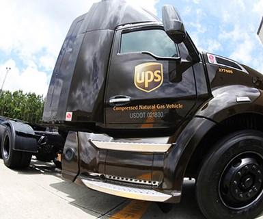UPS to Add 6,000 CNG Trucks