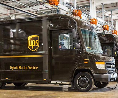 UPS Using Geo-Fenced Hybrid Trucks in U.K.