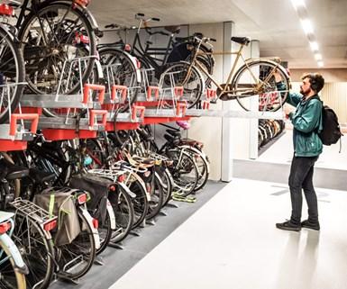 Netherlands Opens Huge Bike Garage