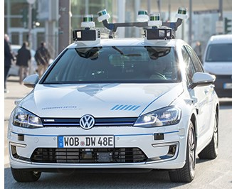 VW Tests Self-Driving Cars in Germany