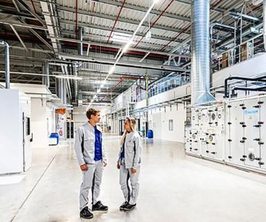 VW Begins Pilot Production of Battery Cells