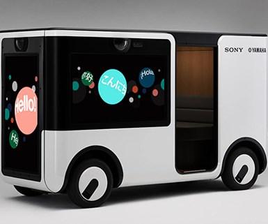 Sony, Yamaha Partner on Autonomous Video Pod