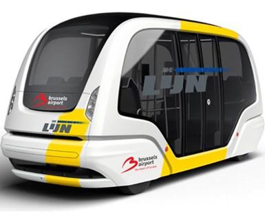 ZF Plans Autonomous-Shuttle Service in 2021