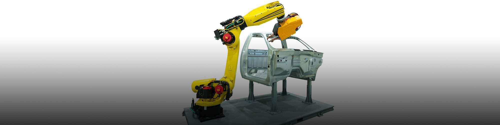 The FANUC America six-axis R-2000iD/210FH robot. (Image: FANUC America)