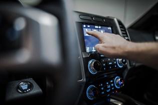 automobile user interface