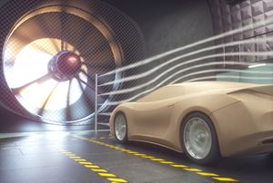 vehicle aerodynamics test