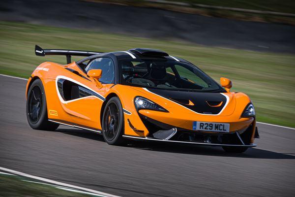 McLaren Carbon Fiber and an Appealing UI image