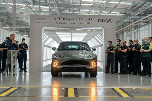 Aston Martin Starts DBX Crossover Production image