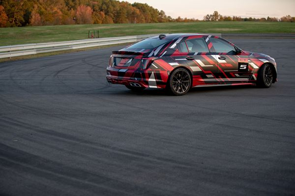 Cadillac Elevates Its Game With Forthcoming Blackwings image