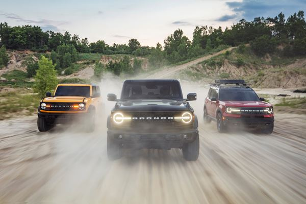 Ford Reveals Bronco Family: First Up Is Bronco Sport image
