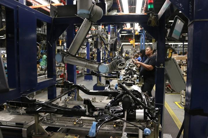 Universal Robots cobot