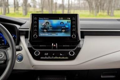 2020 Corolla Hybrid Interior