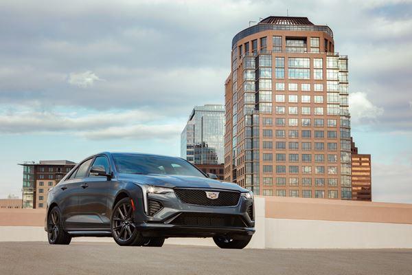2020 Cadillac CT4-V image