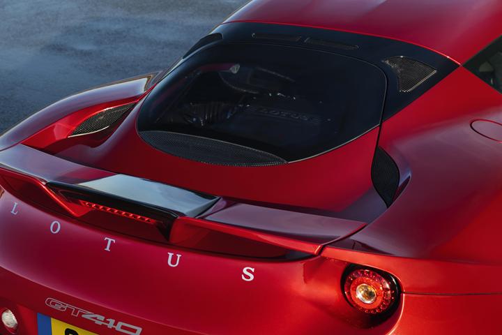 Lotus Evora rear