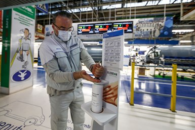 FCA hand sanitizer