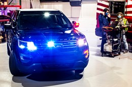 Ford Applies the Heat in Police Cruisers to Arrest Coronavirus