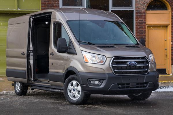 Ford Adds Electric Transit Van at Kansas City Plant image