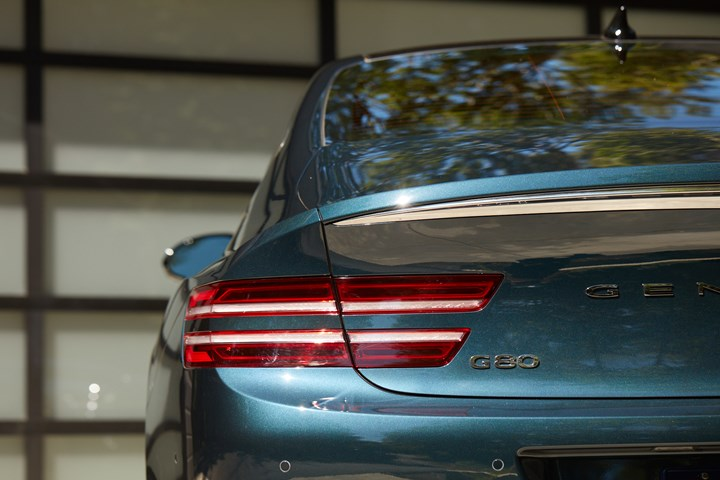 G80 taillamps