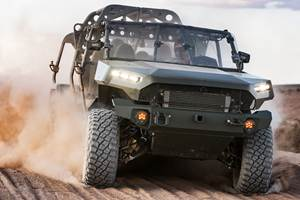 GM will supply a variant of the Chevy Colorado to the U.S. Army as an off-road infantry truck