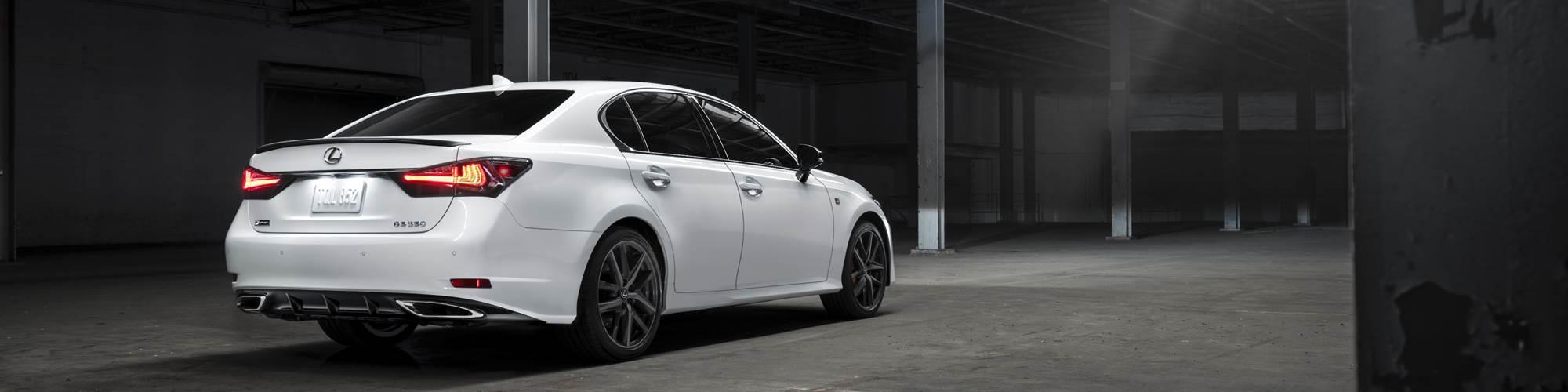 Lexus GS F Sport rear