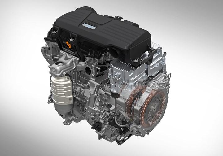 CR-V Hybrid powertrain