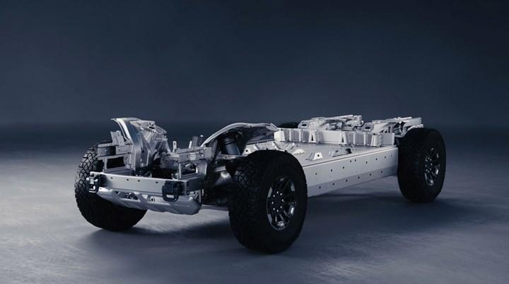 HUMMER EV chassis