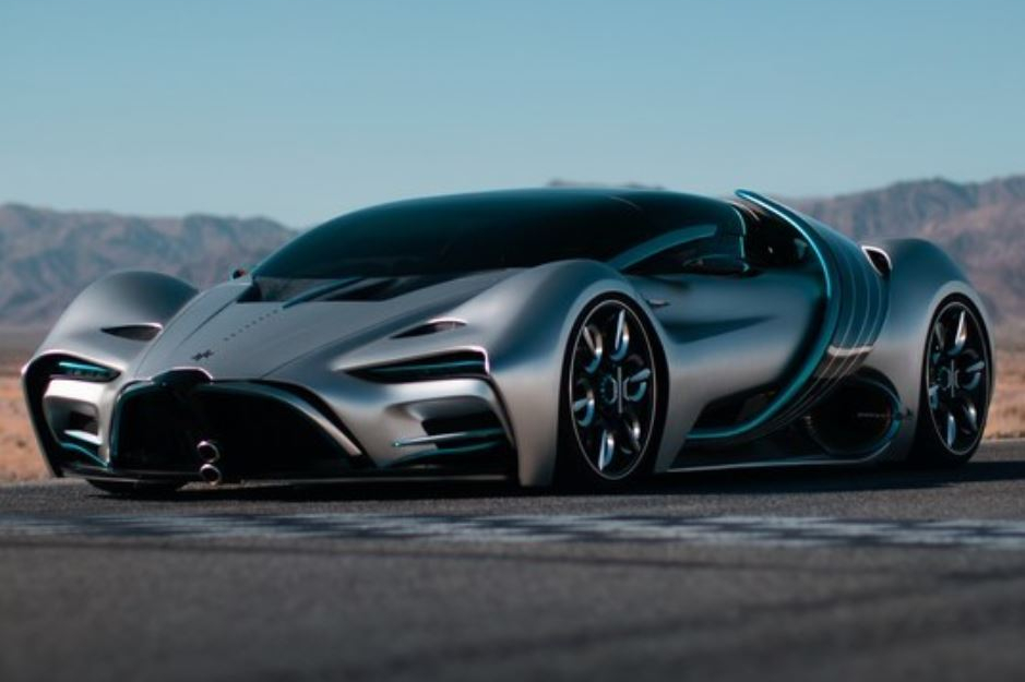 Startup Teases Fuel Cell-Powered Supercar