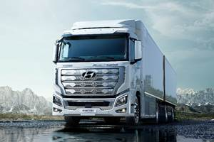 Hyundai Debuts Hydrogen-Powered Big Trucks in Europe