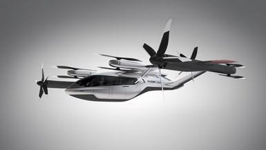 Hyundai Uber plane