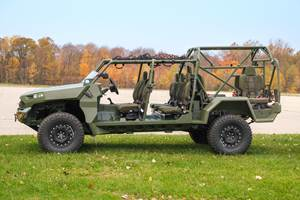 GM Defense Delivers Vehicle to Army Fast