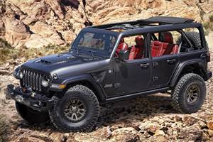 Jeep Puts on the Muscle with V-8 Wrangler Concept