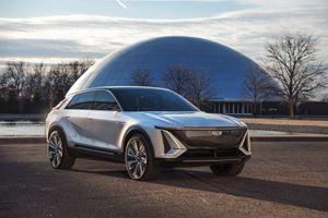 Cadillac Intros Lyriq EV Crossover image