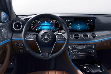 Mercedes new steering wheel