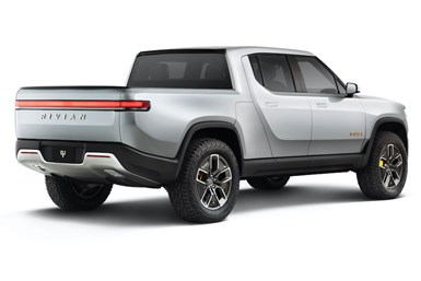 Rivian's R1T electric pickup truck