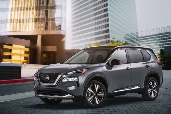 Designers Talk 2021 Nissan Rogue image