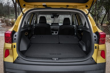 Seltos rear interior