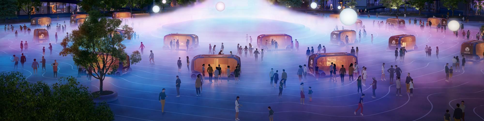 Toyota Woven City concept