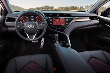 2020 Camry TRD interior