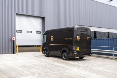 UPS electric truck by Arrival