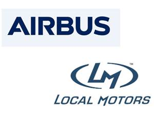 Airbus, Local Motors Partner on Printed Cars, Drones